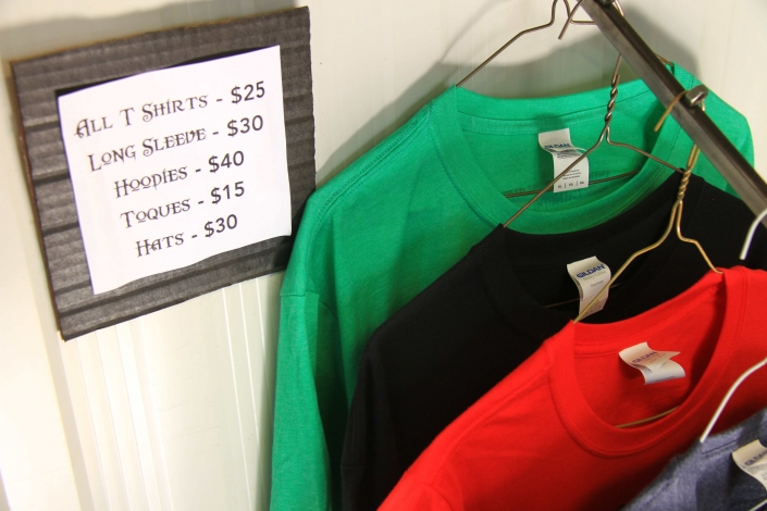 Foggy Mountain Forge apparel prices