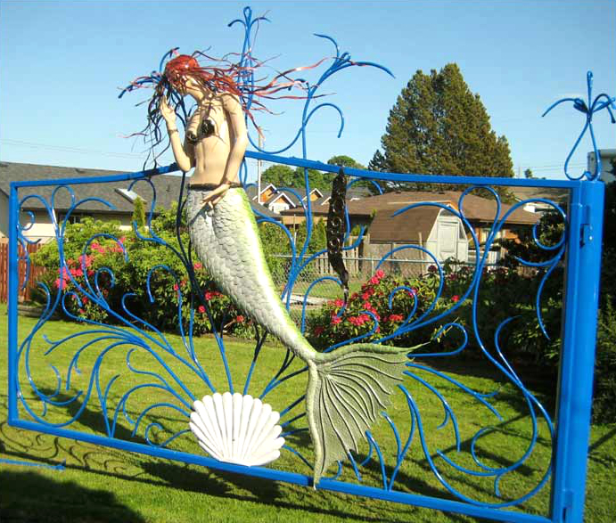 Mermaid gate