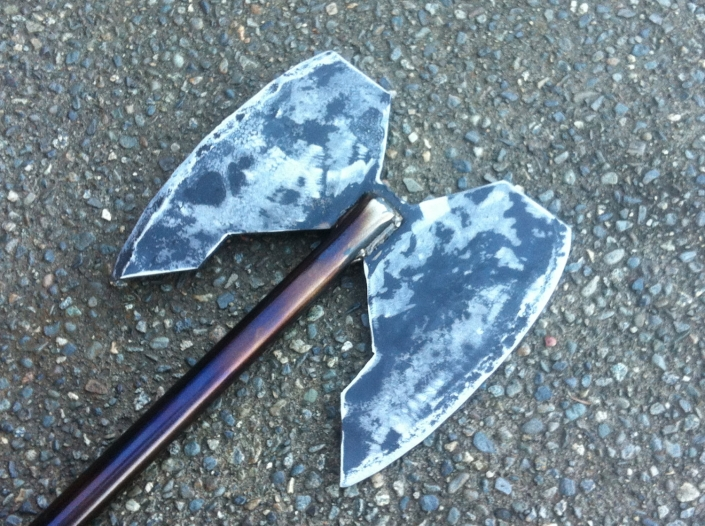 Dwarf battle axe
