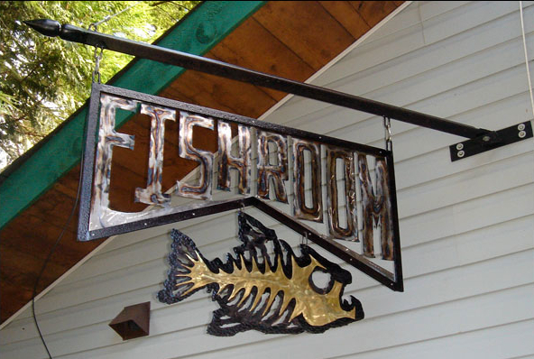 Fishroom sign