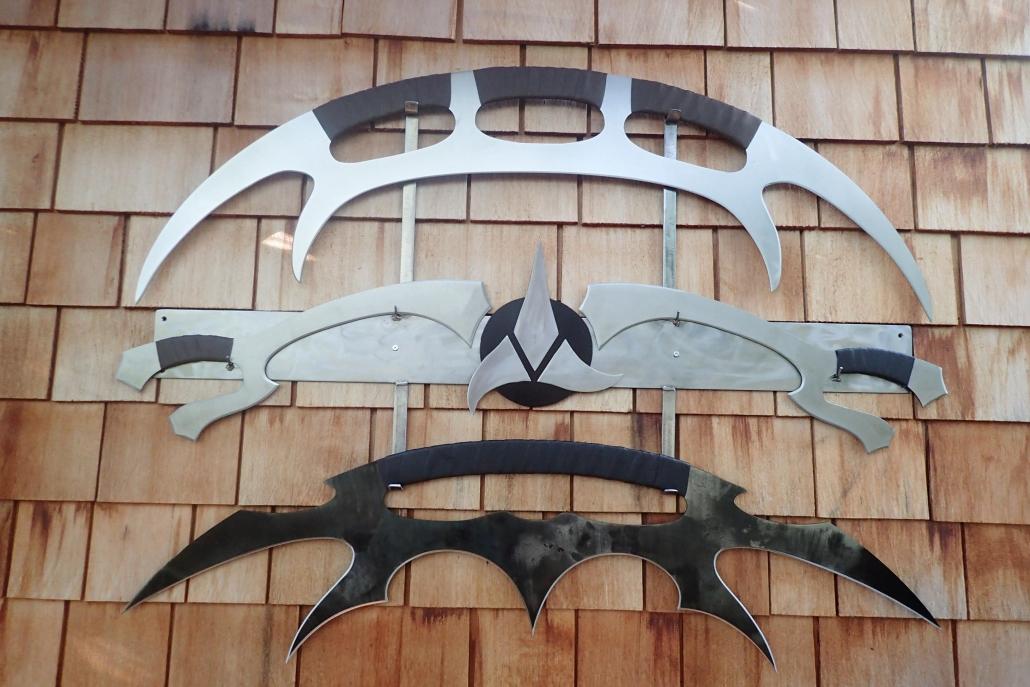 Klingon weapon set