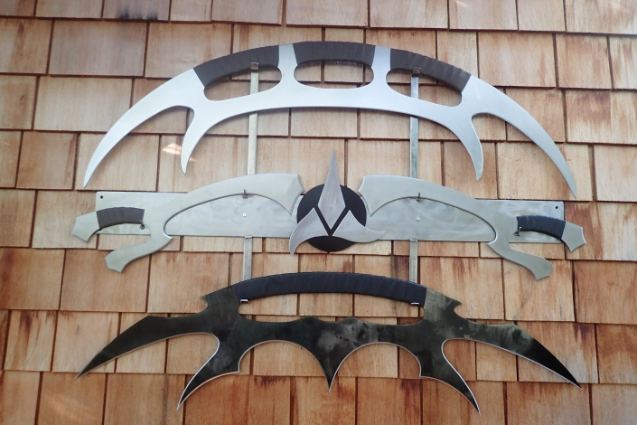 Klingon weapon set
