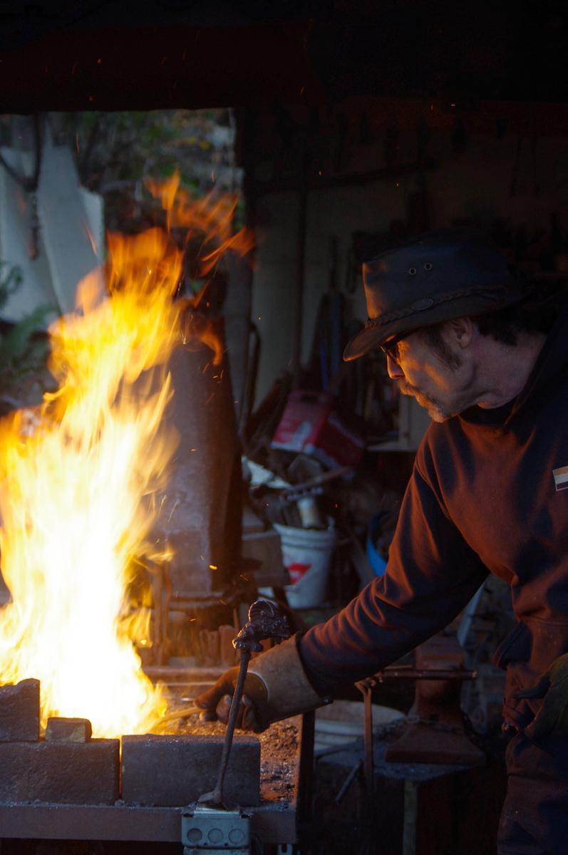 Marty Gilbertson Blacksmith Artist