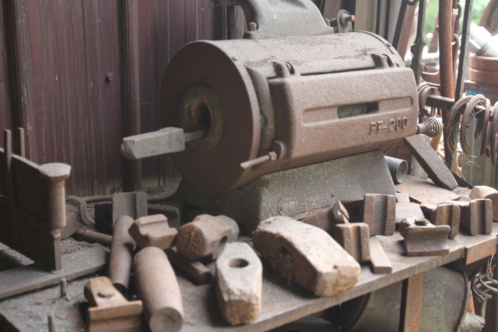 Propane forge and various tools