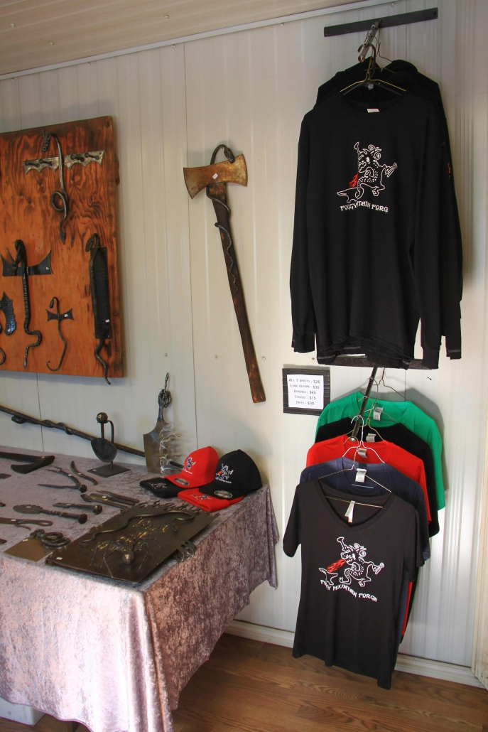 Sample of Foggy Mountain Forge apparel