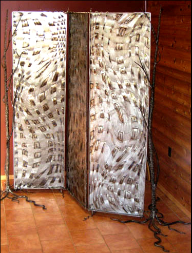 Woven screen / Room divider