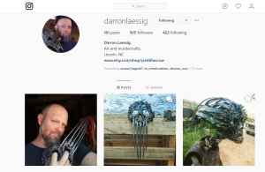 instagram metal masks