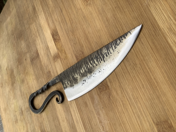 Blacksmith knife